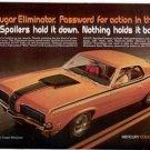 1970 MERCURY COUGAR ELIMINATOR VINTAGE CAR AD