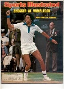 SPORTS ILLUSTRATED JULY 14 1975 ARTHUR ASHE