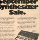 1975 ARP SYNTHESIZER AD