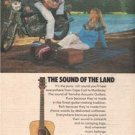 1974 YAMAHA GUITAR AD THE SOUND OF THE LAND