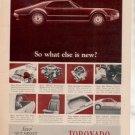 1966 OLDSMOBILE TORONADO VINTAGE CAR AD