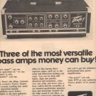 1976 PEAVEY BASS AD