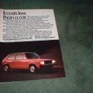 1984 VOLKSWAGEN CAR AD 4-PAGE