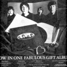 THE BEATLES LOVE SONGS POSTER TYPE PROMO AD 1977
