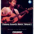 * JOHN MAYER FISHMAN GUITAR AD