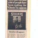 1975 STRAWBS PROMO TOUR AD