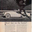 1960 TRIUMPH TR3 TR 3 VINTAGE CAR AD