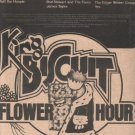 * 1975 KING BISCUIT FLOWER HOUR SPECIAL POSTER TYPE AD