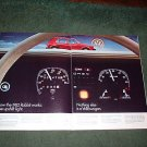 1982 VOLKSWAGEN RABBIT CAR AD 2-PAGE