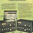 1976 SANSUI TU 7700 TU 5500 TU 4400 RECEIVER AD