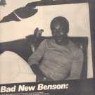 * 1977 GEORGE BENSON IN FLIGHT POSTER TYPE AD