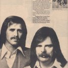 * 1976 ENGLAND DAN & JOHN FORD COLEY POSTER TYPE AD