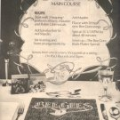 1975 BEE GEES MAIN COURSE POSTER TYPE AD