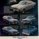 1975 1976 MAZDA RZ-4 RZ-3 PICKUP CAR AD