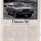 1980 1981 DATSUN 510 VINTAGE ROAD TEST AD 5-PAGE