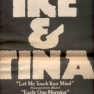 IKE & TINA TURNER TOUCH YOUR MIND POSTER TYPE AD 1973