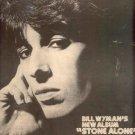 ROLLING STONES BILL WYMAN STONE ALONE PROMO AD 1975
