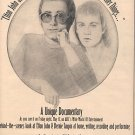 ELTON JOHN GOODBYE YELLOW BRICK ROAD PROMO AD 1974