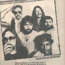 THE DOOBIE BROTHERS MINUTE BY MINUTE PROMO AD 1979