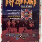 * DEF LEPPARD ROCK OF AGES PROMO AD