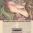 1973 VINTAGE MARANTZ 4230 RECEIVER AD HOT GIRL
