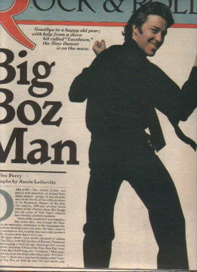 * 1977 BOZ SCAGGS ARTICLE AD WRITE UP 4-PAGE