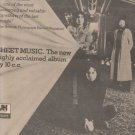 * 1974 10CC 10 CC SHEET MUSIC POSTER TYPE AD