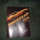 1977 1978 DATSUN 280-Z 280Z VINTAGE CAR AD FUEL INJECTE