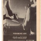 1977 WISHBONE ASH NEW ENGLAND POSTER TYPE AD