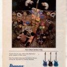 1991 PAUL GILBERT MR BIG IBANEZ GUITAR AD
