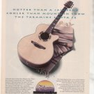 * 1993 TAKAMINE SANTA FE PSF-48C PSF48C GUITAR AD