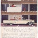 * 1960 MERCURY PARK LANE PHOTO PRINT AD