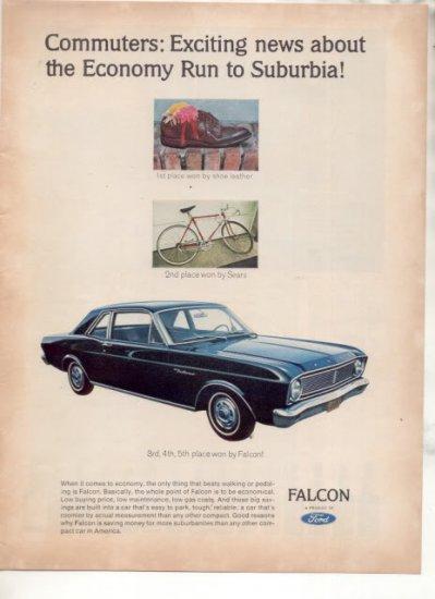 1966 FORD FALCON VINTAGE CAR AD