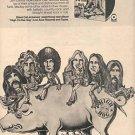 BLACK OAK ARKANSAS HIGH ON THE HOG PROMO AD 1973