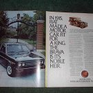 1980 FIAT BRAVA CAR AD