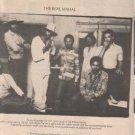 * 1977 TAJ MAHAL POSTER TYPE AD