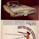 1966 1967 DODGE POLARA VINTAGE CAR AD