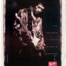 FENDER STRATOCASTER GUITAR AD JIMI HENDRIX 1998