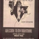 1975 ALICE COOPER WELCOME TO MY NIGHTMAR POSTER TYPE AD