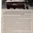 1964 CHEVY CORVETTE VINTAGE CAR AD