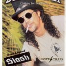 SLASH GUNS N ROSES DRAGONFLY CLOTHING PROMO AD 2001