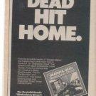 GRATEFUL DEAD SHAKEDOWN STREET PROMO AD 1979