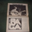 1972 STEVE MILLER BAND ROCK LOVE POSTER TYPE AD