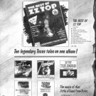 ZZ TOP THE BEST OF POSTER TYPE PROMO AD 1977