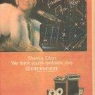ELTON JOHN PIONEER PROMO AD 1976