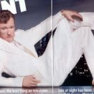 CONAN OBRIEN PHOTO PROMO AD AND INTERVIEW 4 PAGE