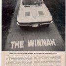 1963 1964 CHEVY CORVETTE STING RAY CAR AD