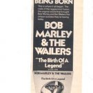 1976 BOB MARLEY & THE WAILERS POSTER TYPE AD