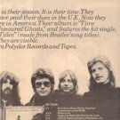 1976 BARCLAY JAMES HARVEST TOUR POSTER TYPE AD