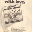 1976 ATLANTA RHYTHM SECTION RED TAPE POSTER TYPE AD